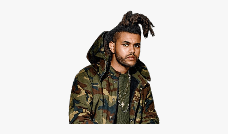 The Weeknd Military Style Jacket - Weeknd Yeezy Gq, Transparent Clipart