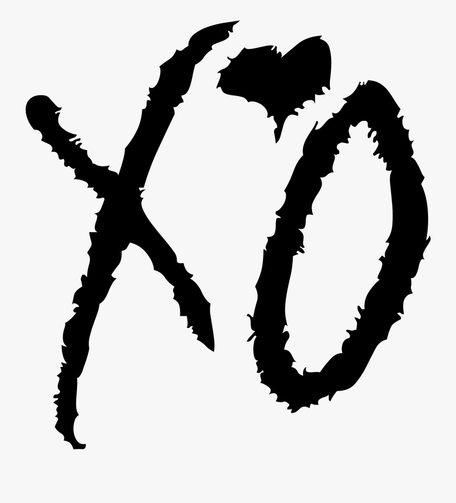 Transparent Calcetines Clipart - Xo The Weeknd Png, Transparent Clipart