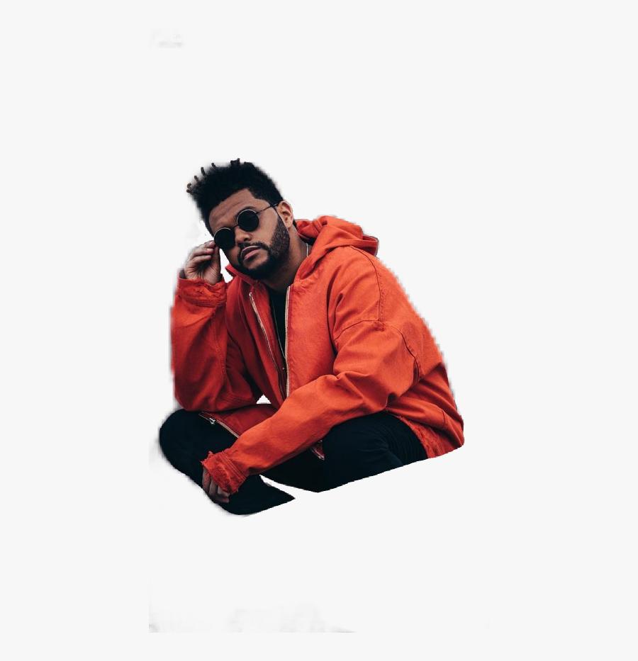 Theweeknd Orange Weeknd Singer Pose - Lockscreen Aesthetic The Weeknd, Transparent Clipart