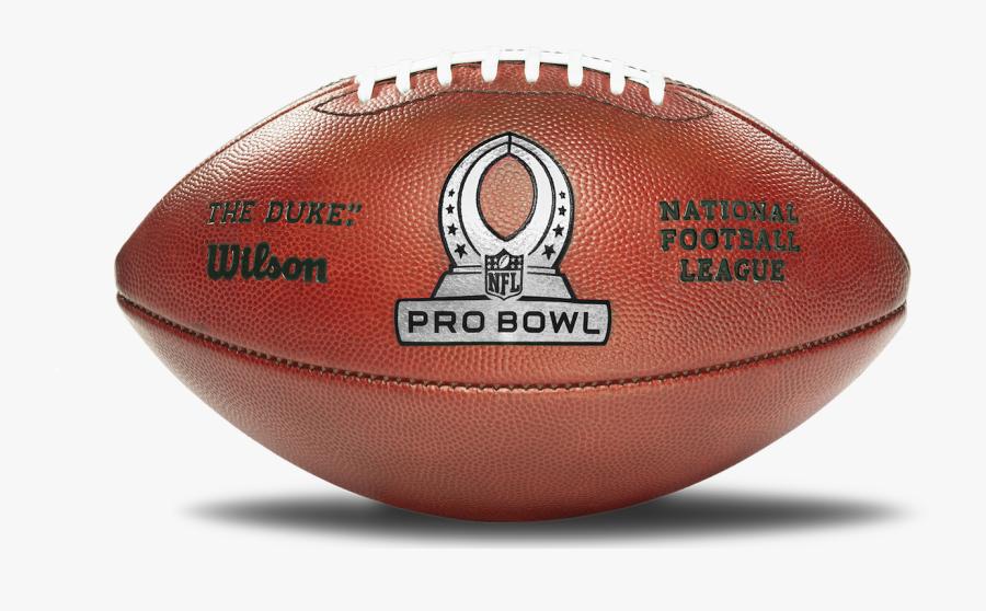 Transparent Football Receiver Clipart - Nfl Pro Bowl Football, Transparent Clipart