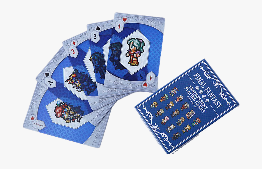 Cards Png Clipart Background - Final Fantasy Transparent Playing Cards, Transparent Clipart