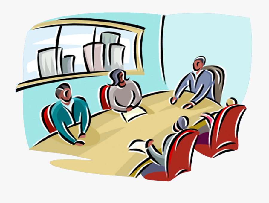 Meeting Clipart Trustee - Conference Room Clipart, Transparent Clipart