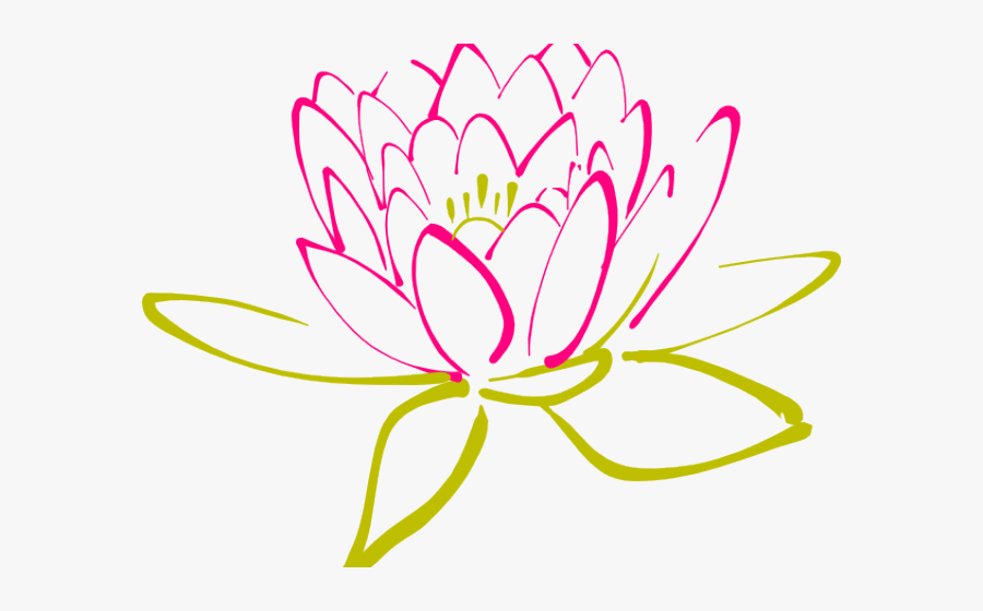 Abstract Clipart Lotus - Abstract Cliparts, Transparent Clipart