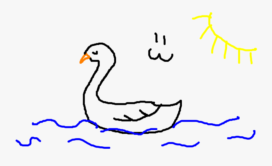 Clip Art De Marithefox Gartic - Duck, Transparent Clipart