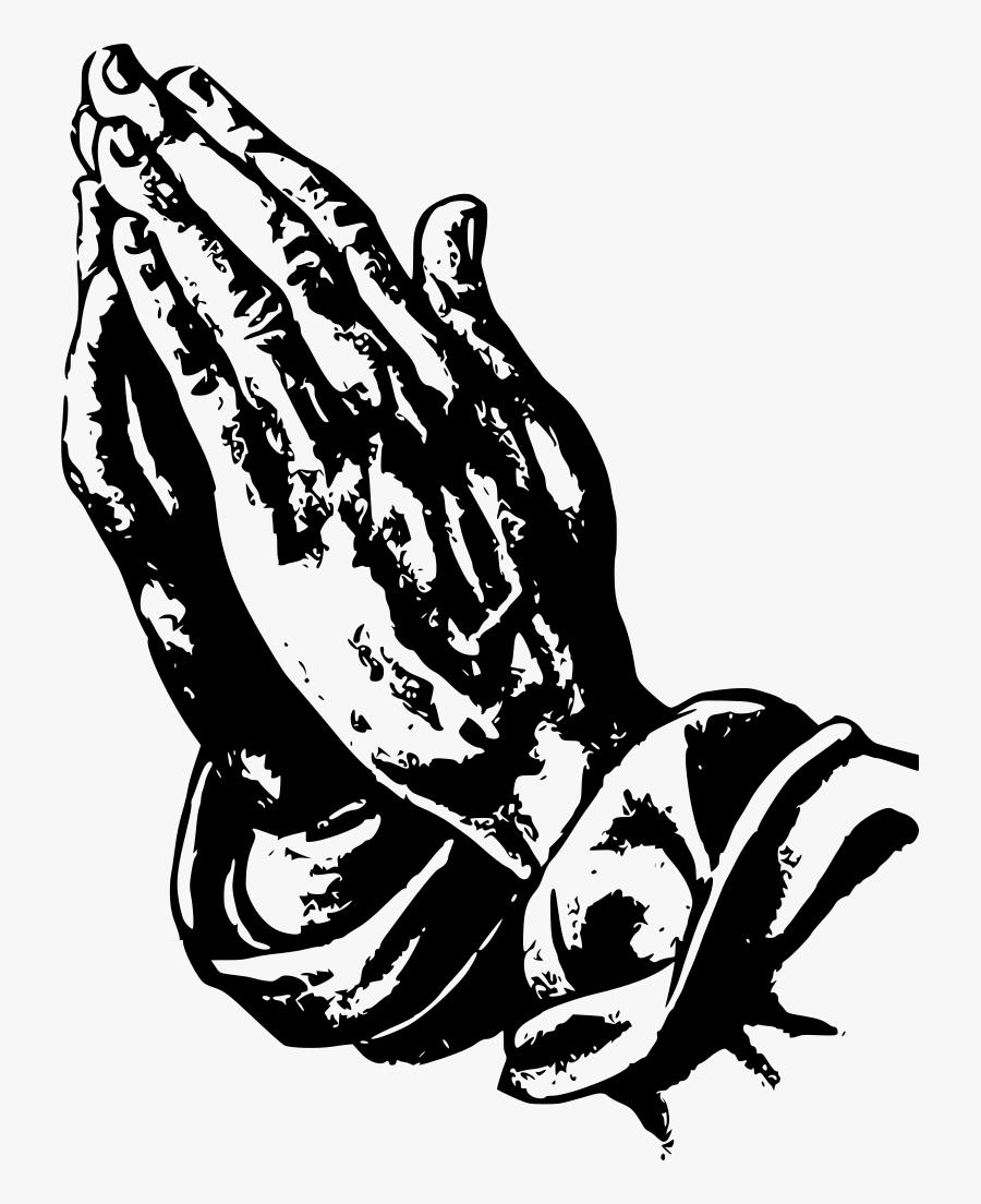 Transparent Background Prayer Hand Png, Transparent Clipart