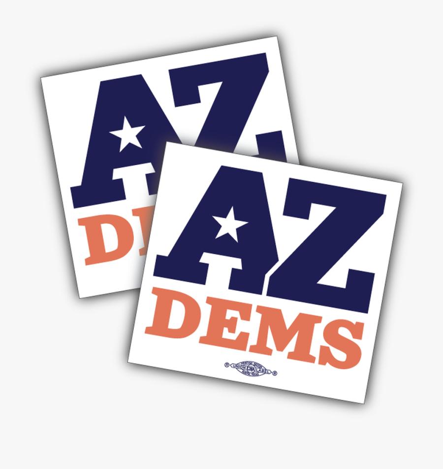 Arizona Democratic Party Official Logo, Transparent Clipart