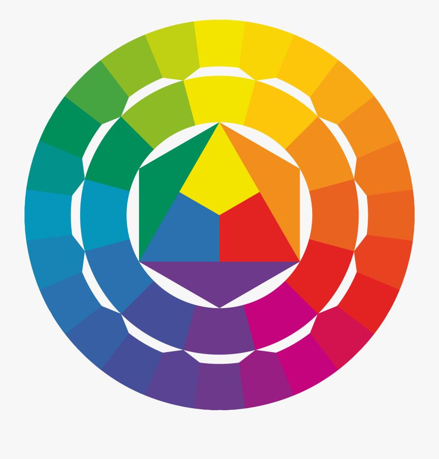 Img - Itten Color Wheel, Transparent Clipart