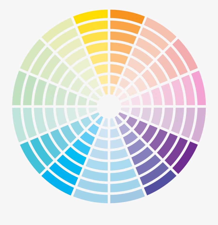 Color Wheel Png - Colour Wheel Triadic Color Scheme, Transparent Clipart