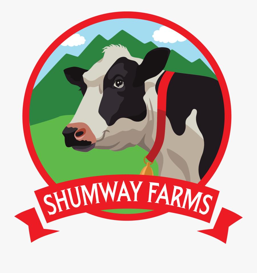 Shumway Farms Fresh Ice - Cattle Farming Cattle Farm Logo, Transparent Clipart