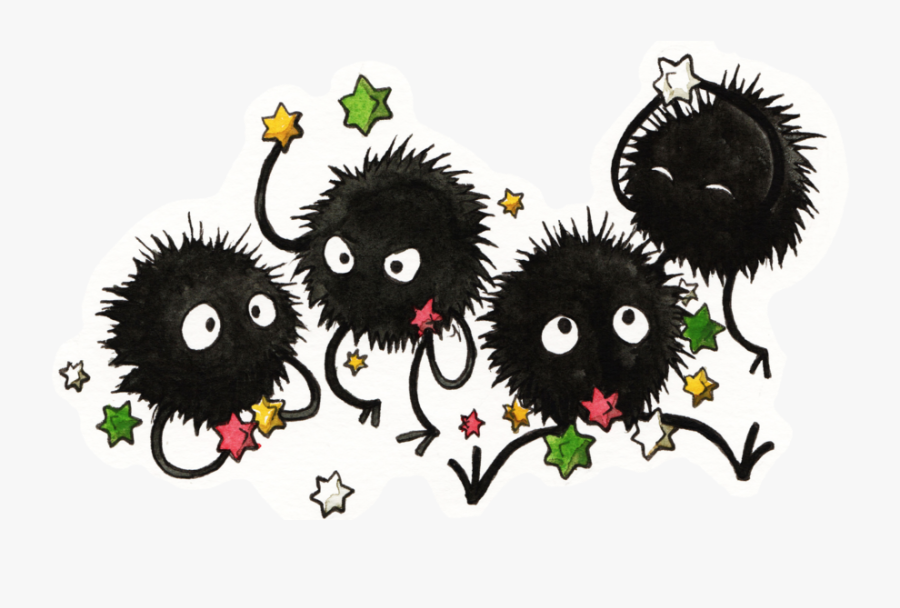 Transparent Spirited Away Png Soot Sprite Png Free Transparent Clipart Clipartkey