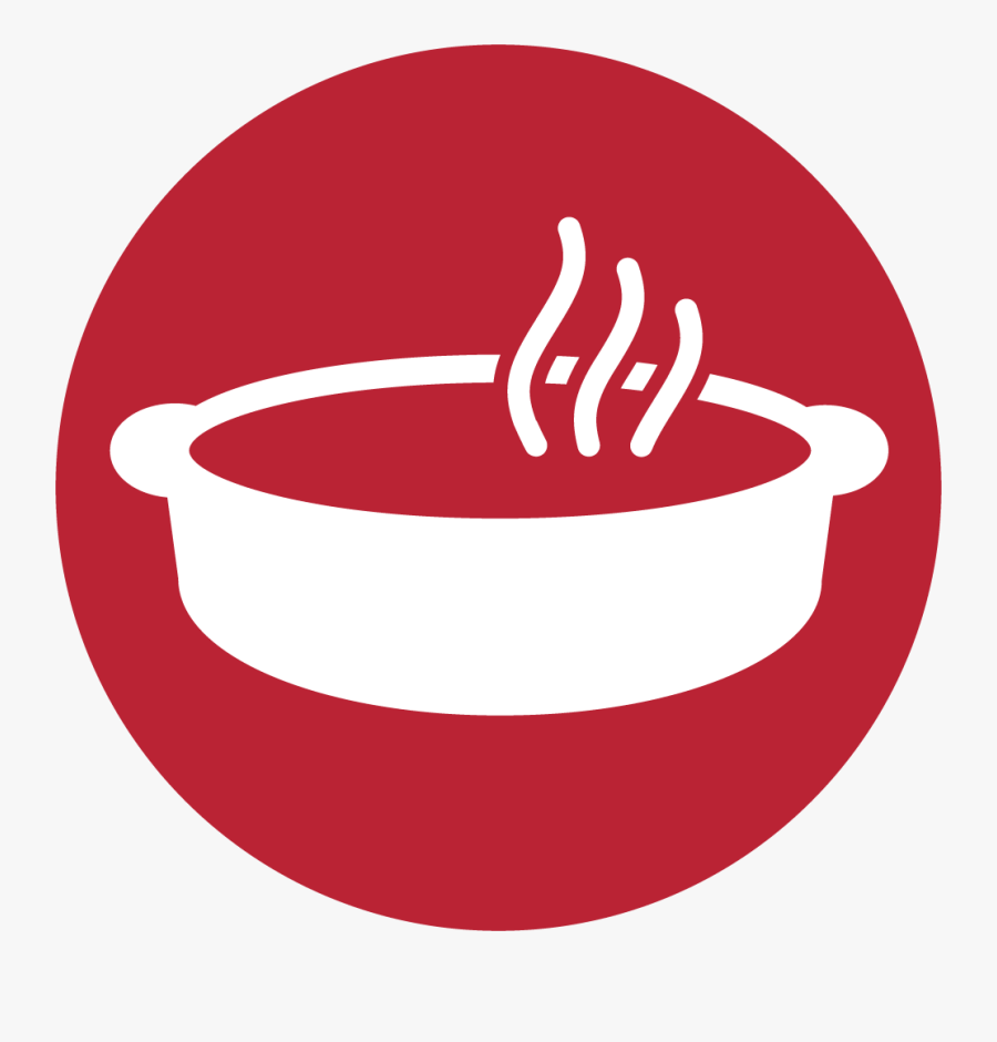 Peppered Ribeye Roast - Circle, Transparent Clipart