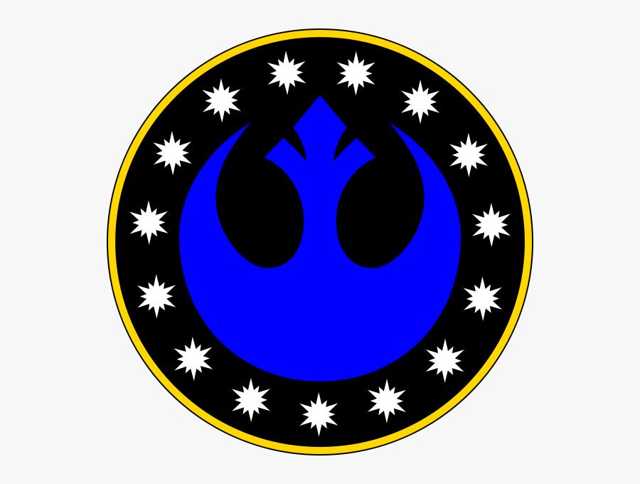 New Galactic Republic Symbol, Transparent Clipart