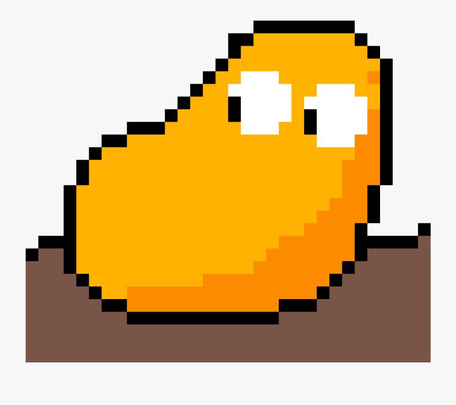Lil Potato For @dj-harmony - Tomato Head Pixel Art, Transparent Clipart