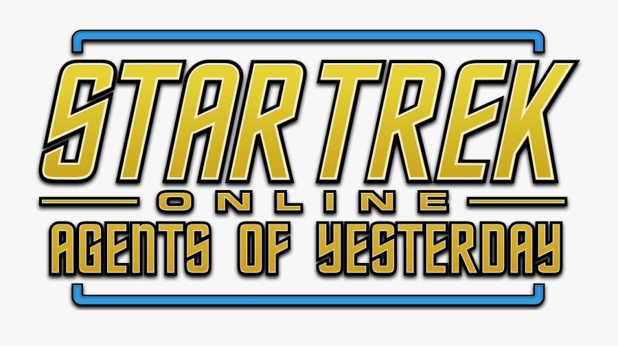 Star Trek Online Agents Of Yesterday Logo, Transparent Clipart