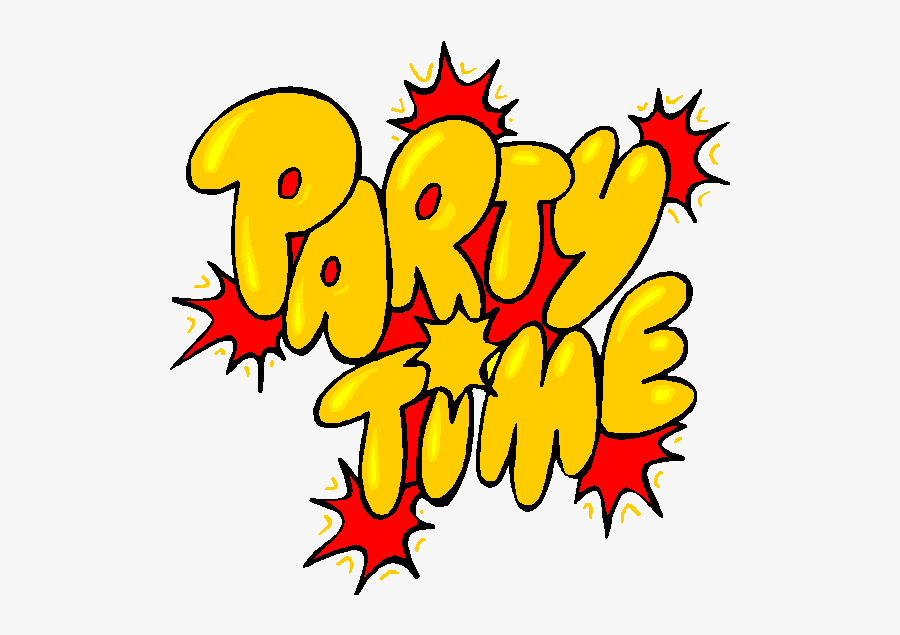Youre Invited Clipart Free Collection - Png Its Party Time, Transparent Clipart