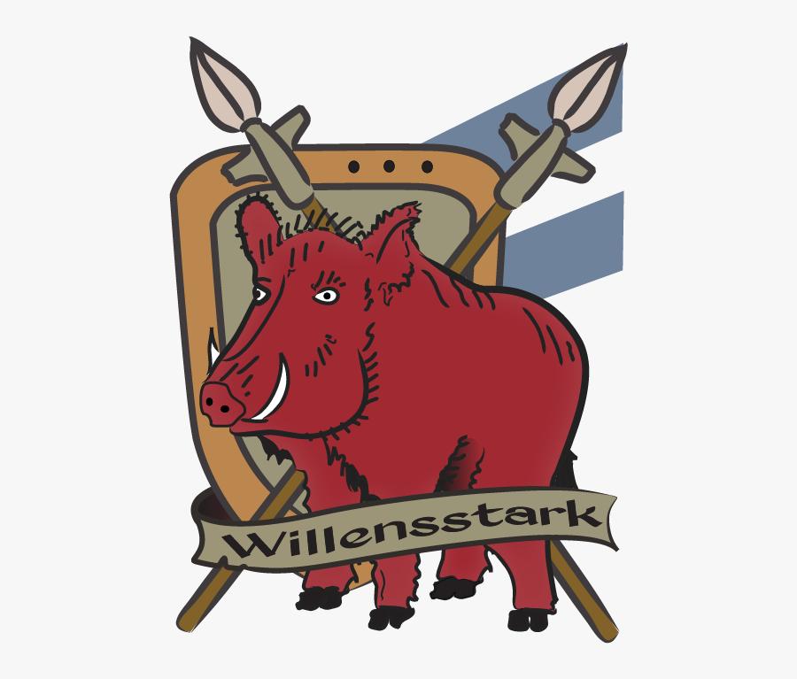 Willensstark Boar - Cartoon, Transparent Clipart