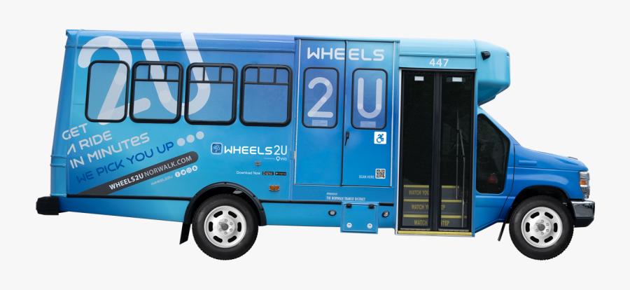 Wheels2u Bus - Wheels2u, Transparent Clipart