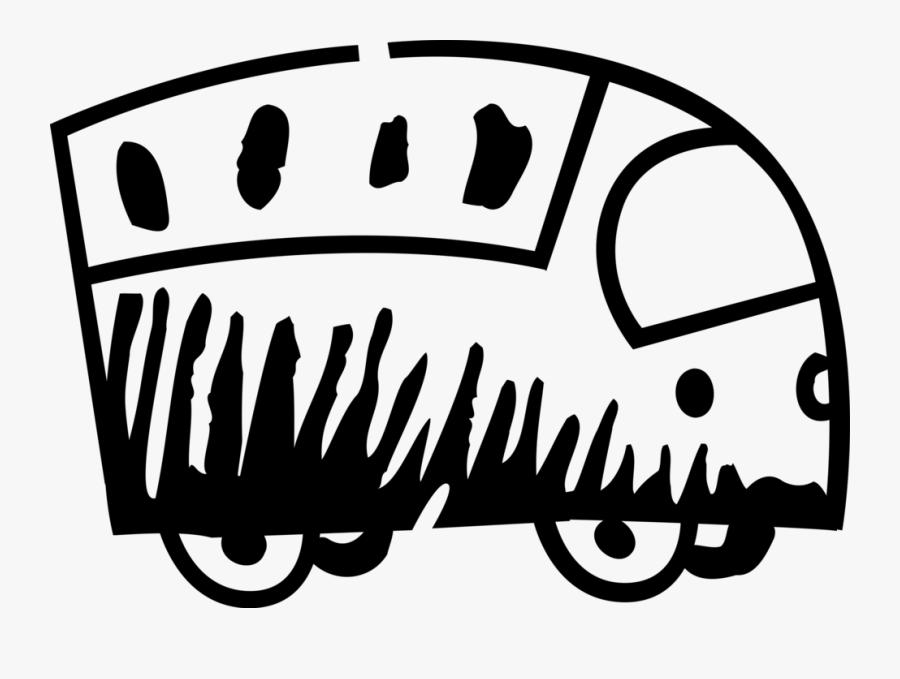 Vector Illustration Of Urban Transportation Intercity, Transparent Clipart