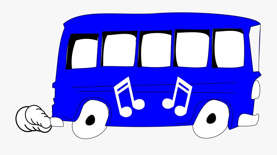 Blue,bus,clipart - Blue Bus Clipart Gif, Transparent Clipart