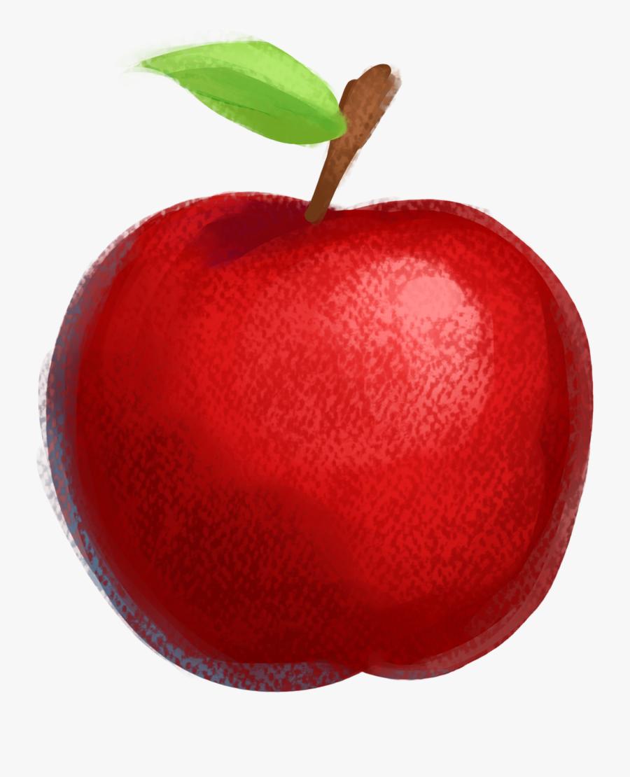 Apple Drawing Fruit Illustration - ภาพ วาด แอ ป เปิ้ ล, Transparent Clipart