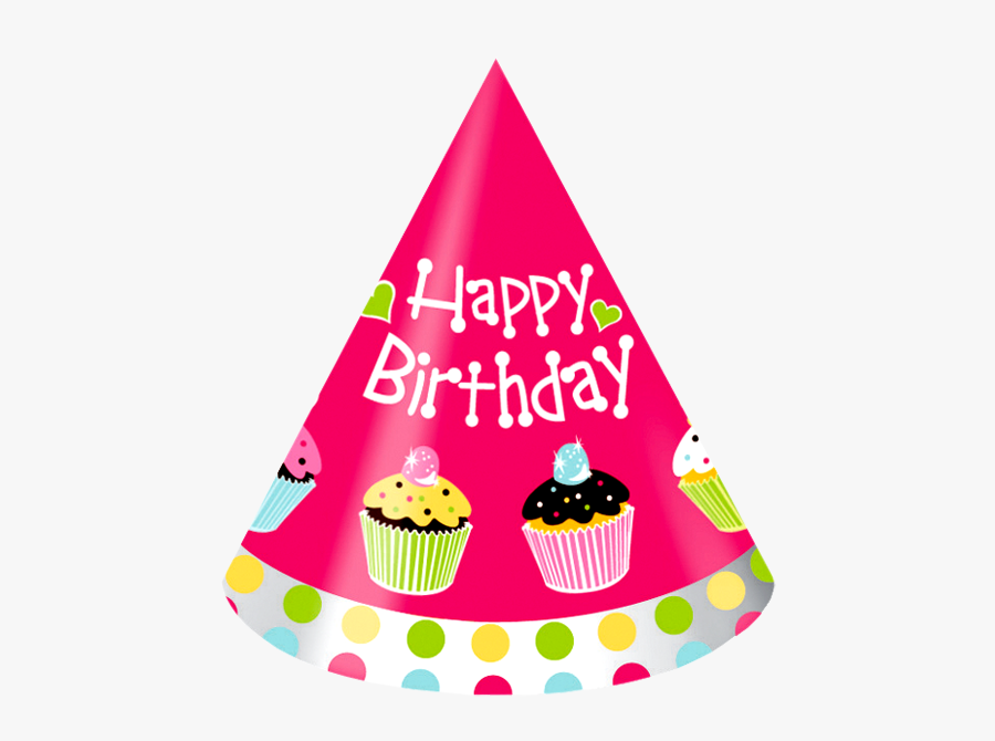 Party Hat Happy Birthday Hat Portable Network Graphics - Happy Birthday Hat Png, Transparent Clipart