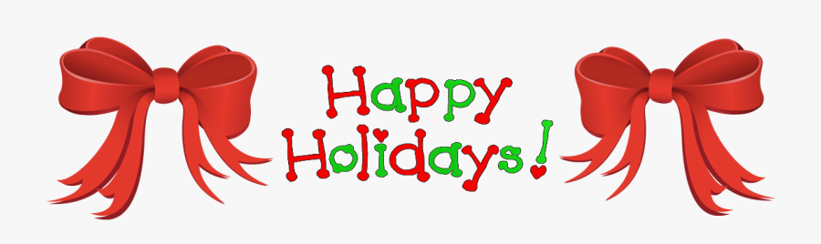 Happy Holidays Clip Art , Transparent Cartoons - Happy Holidays Clip Art, Transparent Clipart