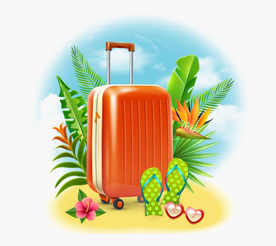 Happy Holidays Png - Clip Art Summer Holiday, Transparent Clipart