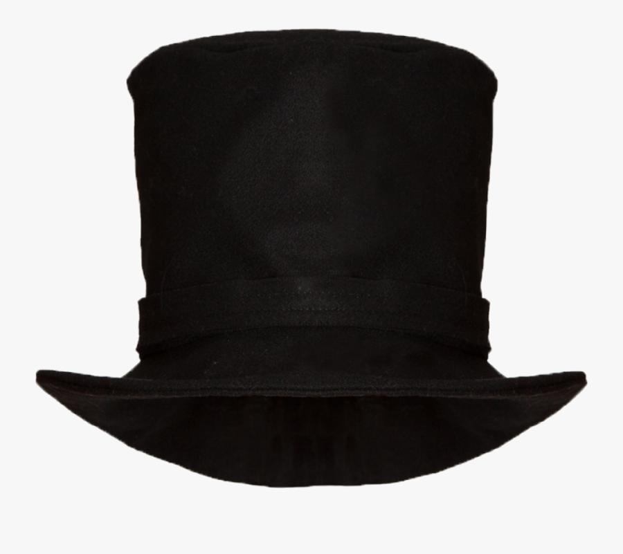 Transparent Top Hat Png - Leather, Transparent Clipart