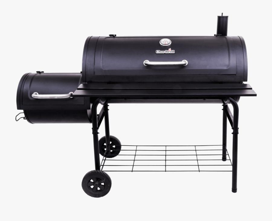 American Gourmet 40 Inch Offset Smoker Deluxe - Char Broil 30 Offset Smoker, Transparent Clipart