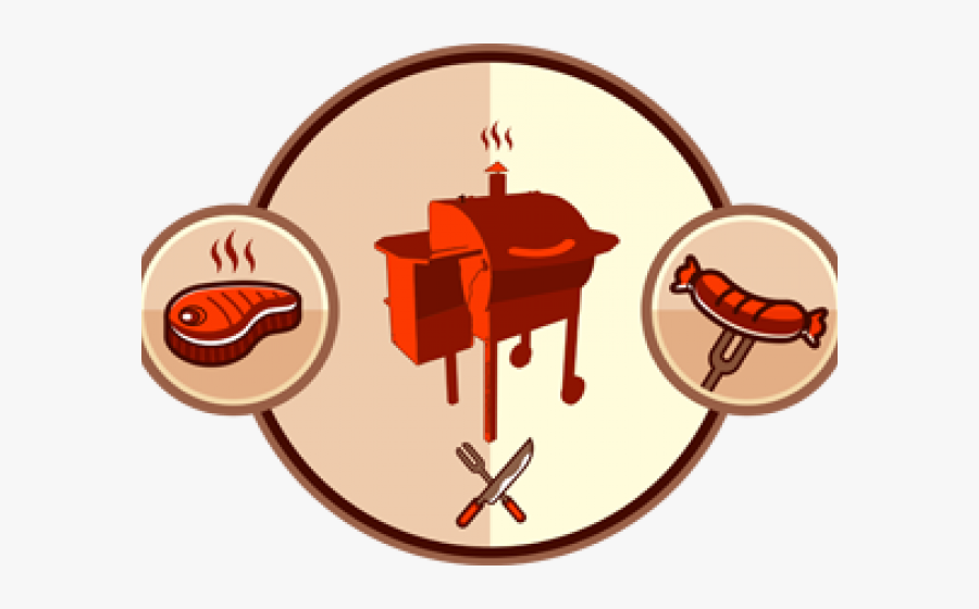 Morning Clipart Bbq - Smoker Grill Traeger Clipart, Transparent Clipart