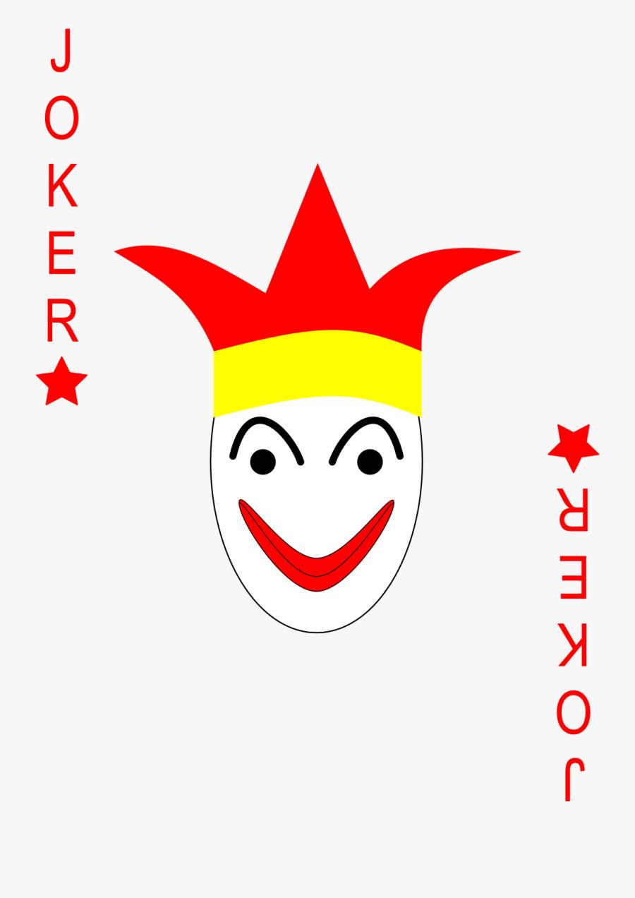 Transparent Playing Card Joker, Transparent Clipart