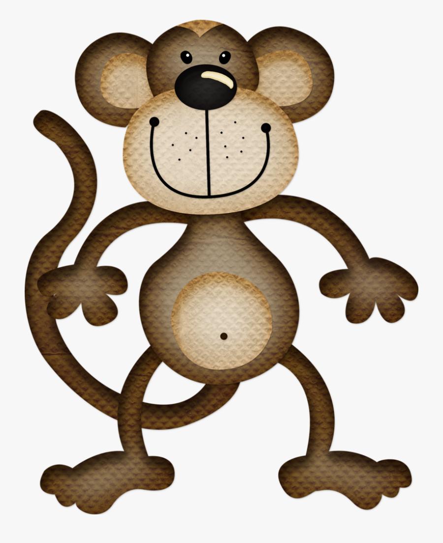 Dibujos De Un Mono Tierno, Transparent Clipart