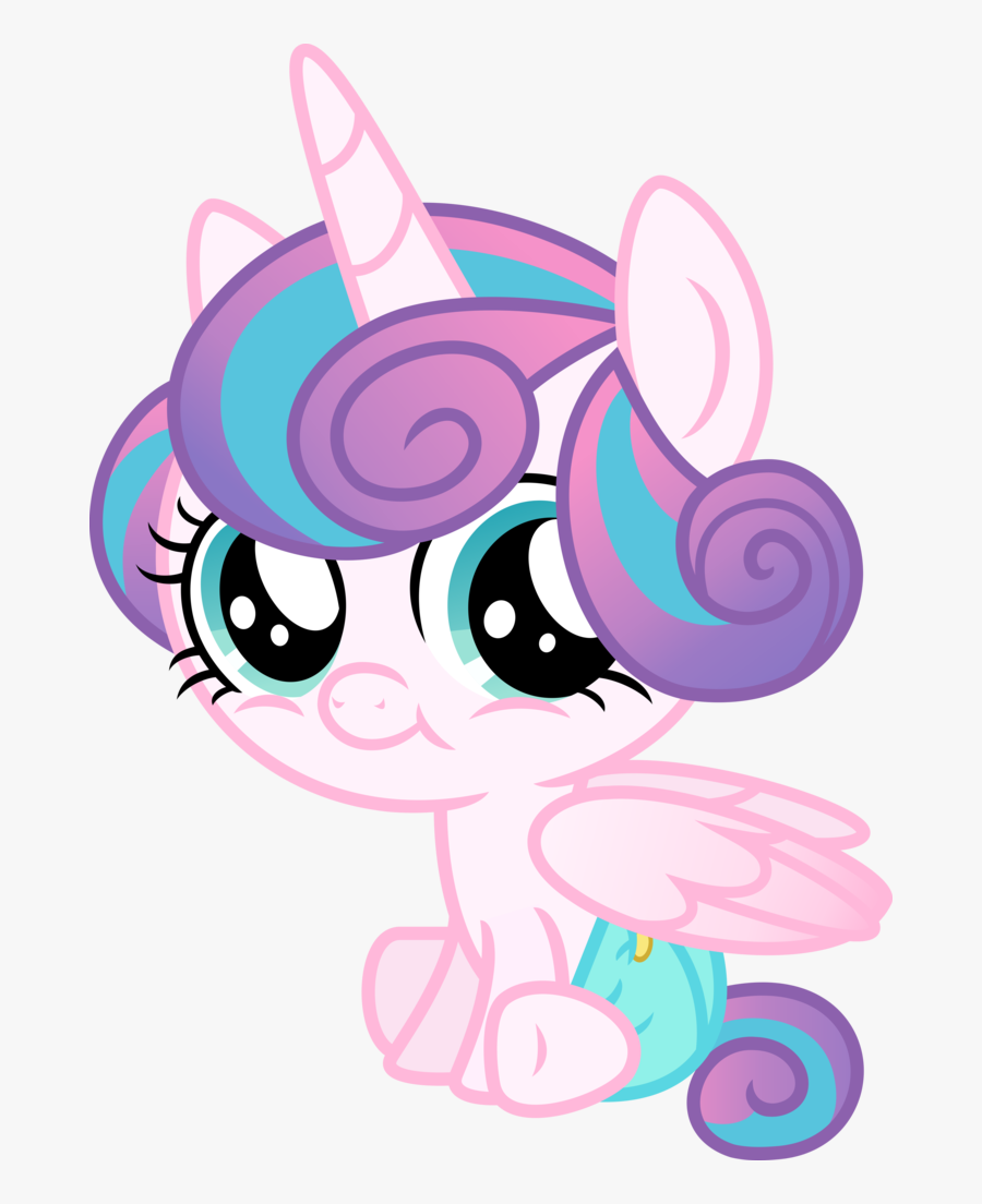 Diapers Clipart Safety Pin - Baby My Little Pony Princess Flurry Heart, Transparent Clipart