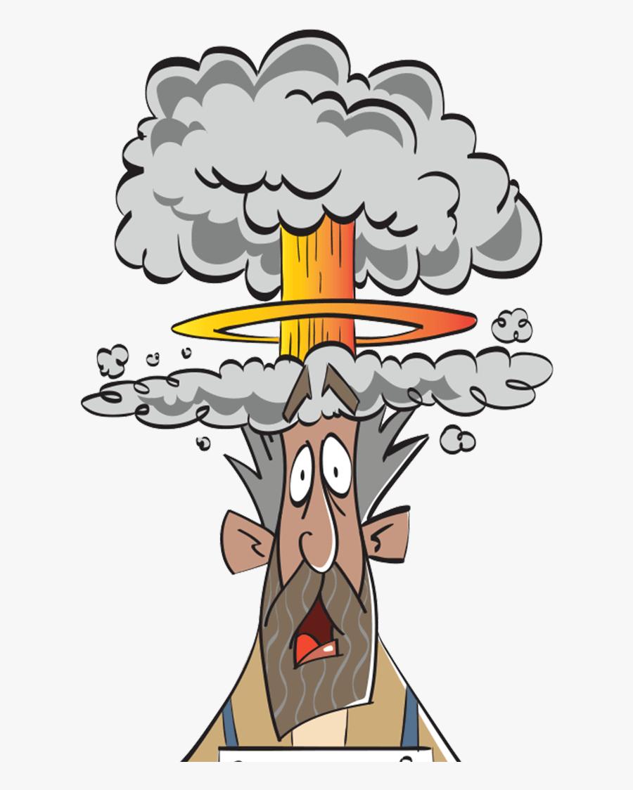 Transparent Mind Blown Png - Blow Your Mind Cartoon, Transparent Clipart