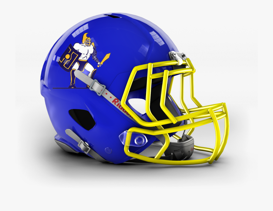 Transparent Gladiator Helmet Png - Nfl Helmets With College Colors, Transparent Clipart