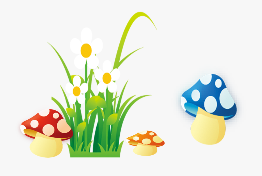 Grass Cartoon Png - Cartoon Images Of Grass And Flowers, Transparent Clipart