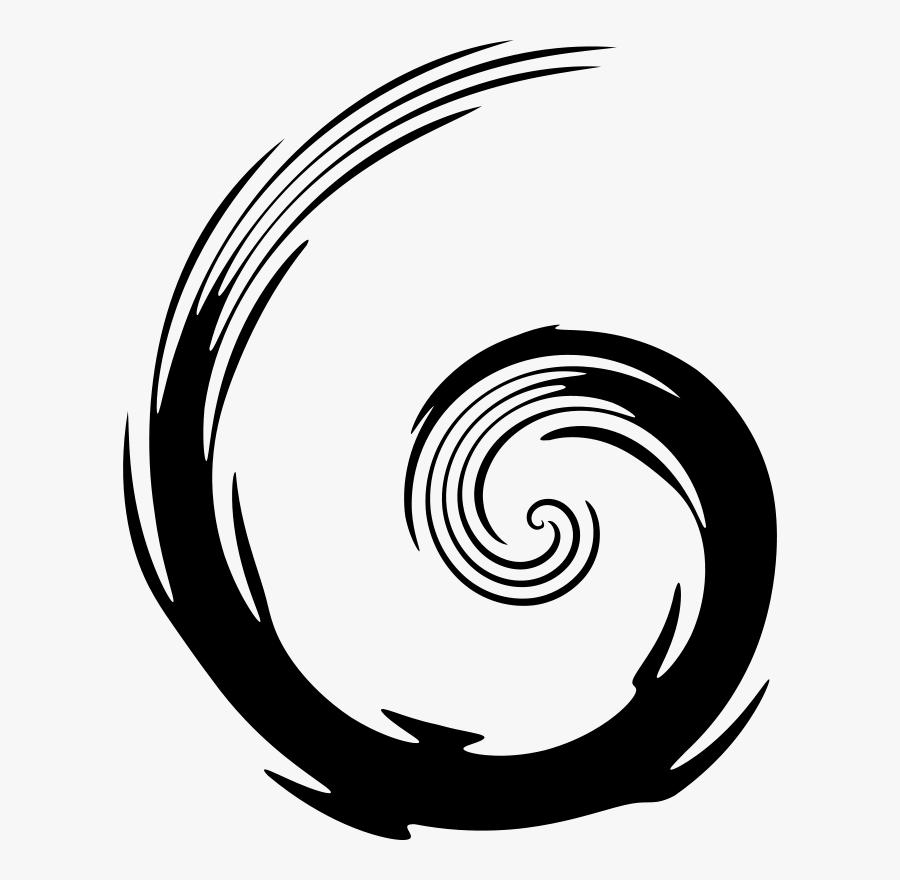 Simple Swirl Clip Art At Vector Clip Art Image - Clipart Swirl Circle, Transparent Clipart