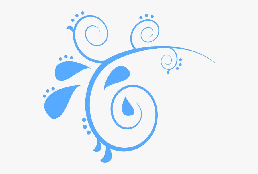 Blue Swirl Png - Blue Swirls Clipart, Transparent Clipart