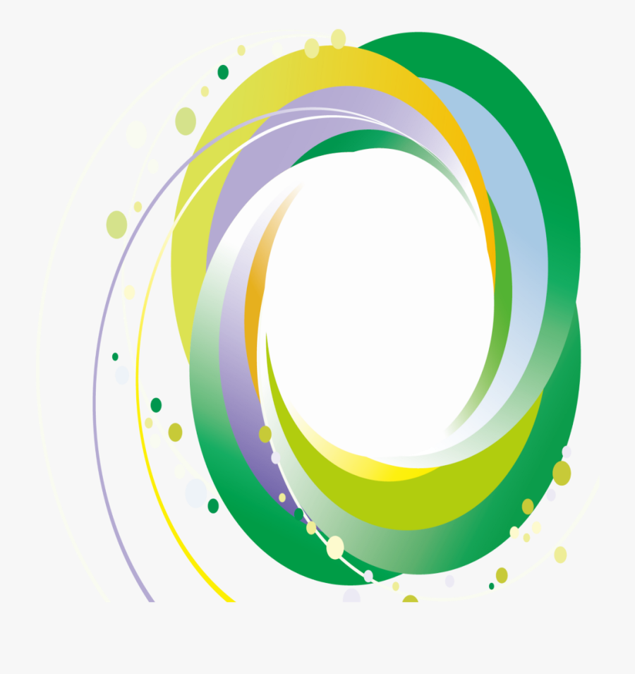 #mq #green #circle #circles #swirls #swirl - Png Circle Vector, Transparent Clipart