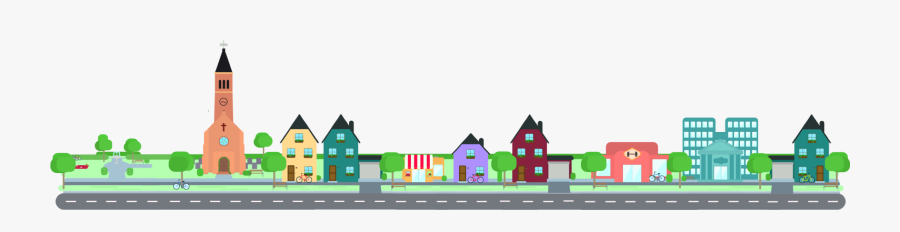 What Is Action Pace - Small Town Png Transparent, Transparent Clipart