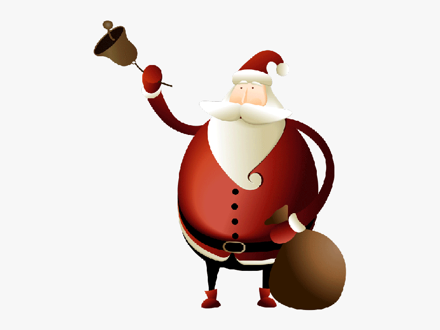 Christmas Day Clipart , Png Download - Santa Claus Gif Png, Transparent Clipart