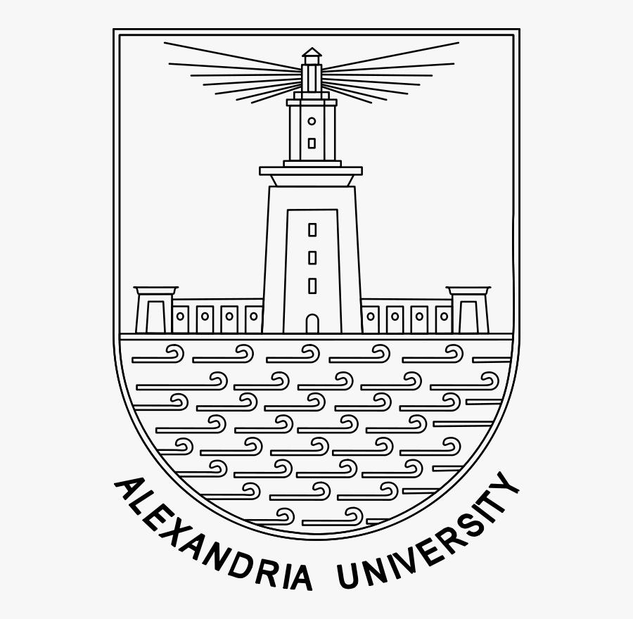 University Of Alexandria - Alexandria University Faculty Of Engineering Logo, Transparent Clipart