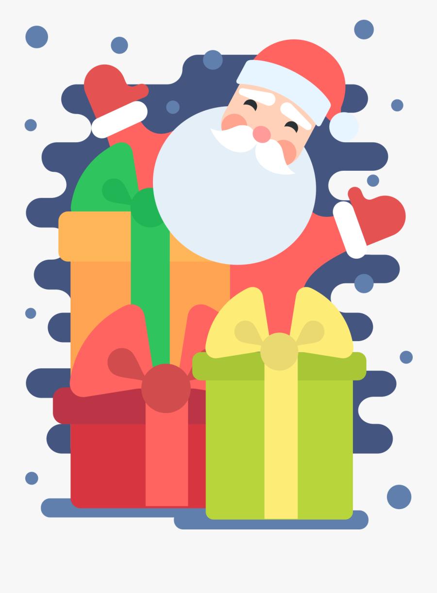 Transparent Santa Beard Clipart - Santa Claus, Transparent Clipart