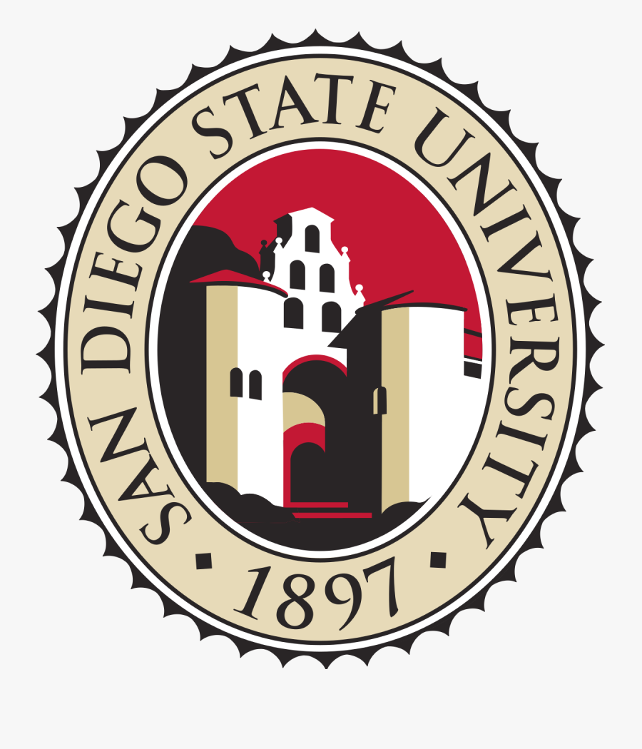 Real World Clipart University Campus - San Diego State University Logo, Transparent Clipart
