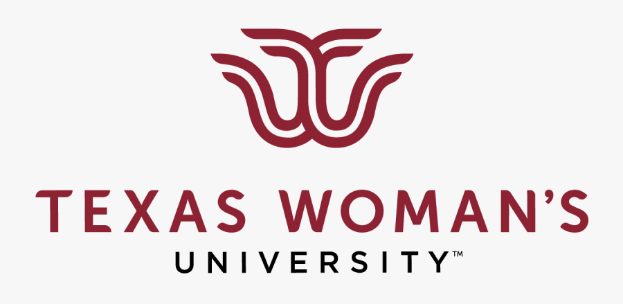 Color Twu Logo With Transparent Background - Transparent Texas Woman's University Logo, Transparent Clipart