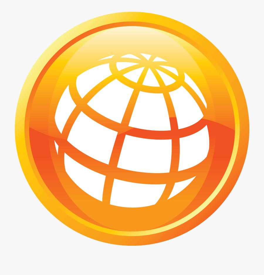 Website Icon Orange Clipart , Png Download - Icon Website Png Orange, Transparent Clipart