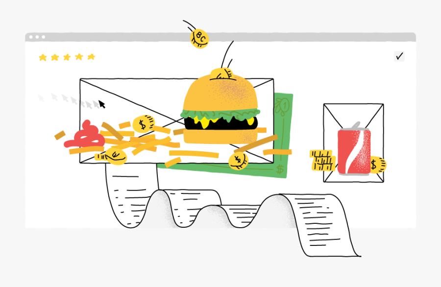 How To Make Money Food Blogging - Illustration, Transparent Clipart