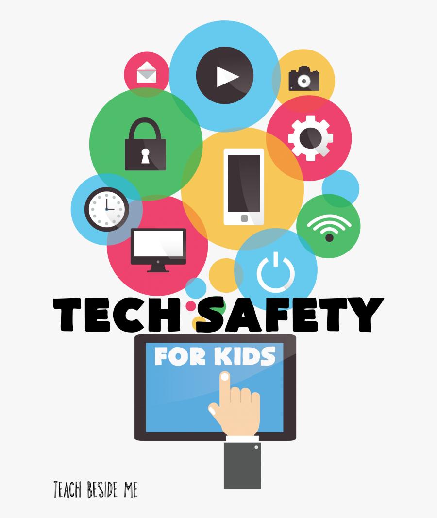 Keeping Kids Safe Online - Technology Safety For Kids, Transparent Clipart