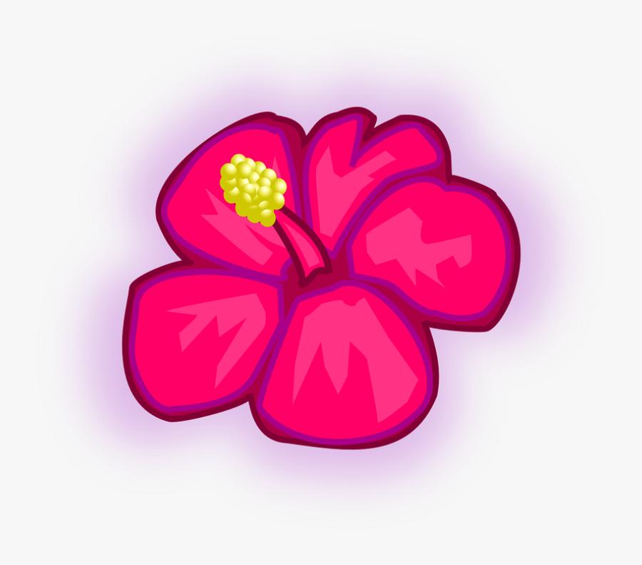 Tropical Rainforest Flowers Drawings, Transparent Clipart