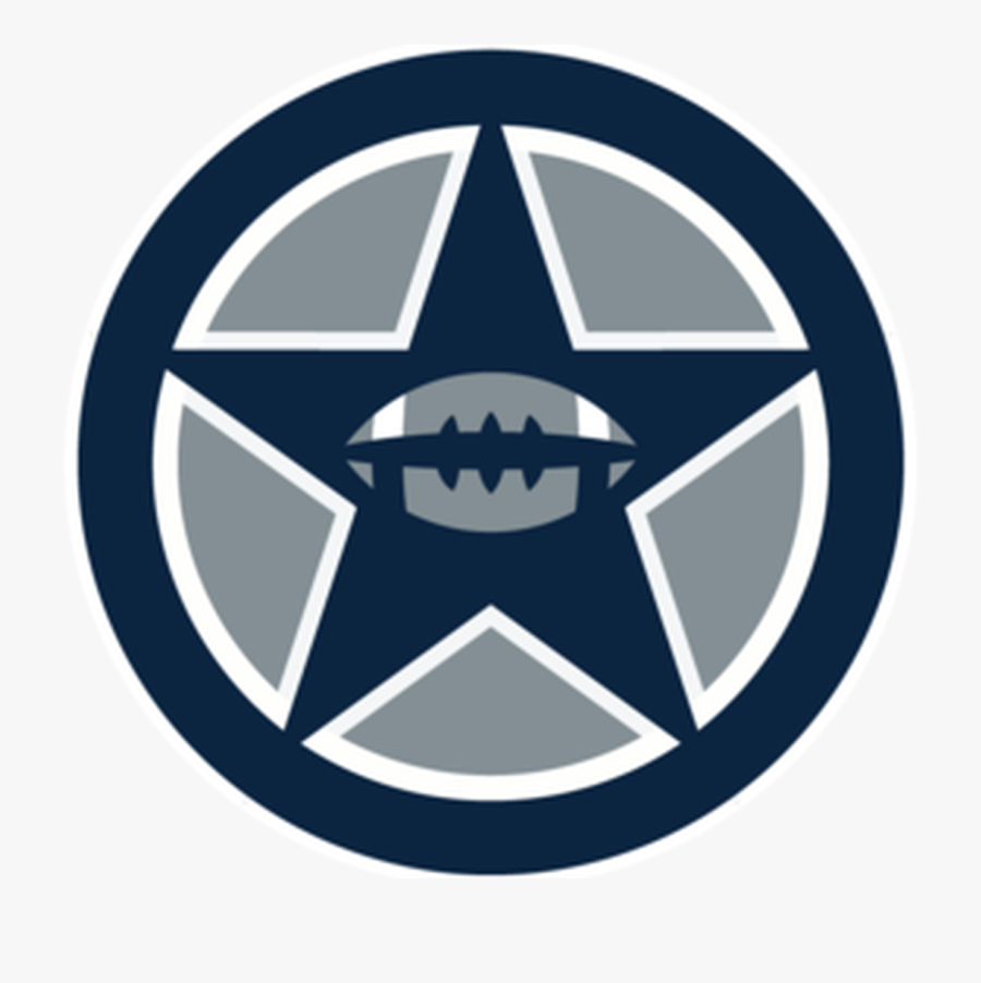 Obscure Stats And Bird Watching In The Nfl - Dallas Cowboys Star Transparent Background, Transparent Clipart